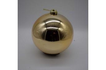 15cm Χριστουγεννιάτικη Μπάλα Champagne CD21-1501-16