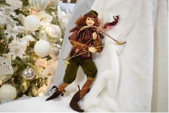 Χειροποίητη Κούκλα 35cm Ξωτικό Robbin Hood DL-2510
