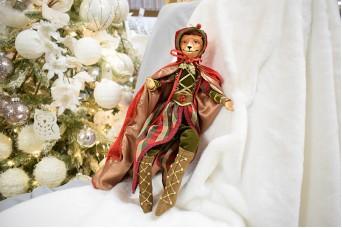 Χειροποίητη Κούκλα 43cm Αλεπού Robbin Hood DL-2512