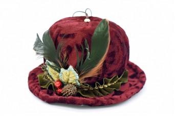 Χειροποίητο Βελούδινο Καπέλο DL-7869
