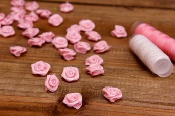 Υφασμάτινο Τριανταφυλλάκι Ροζ