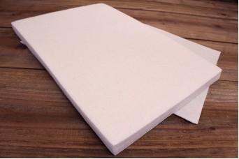 Φύλλα Τσόχας 2mm 20x30cm Λευκά FL0085W