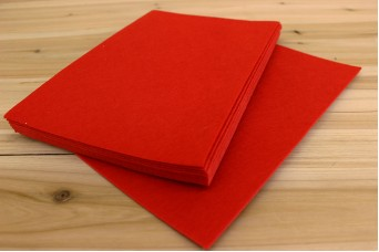 Φύλλα Τσόχας 1mm 20x30cm Κόκκινα FL0086R