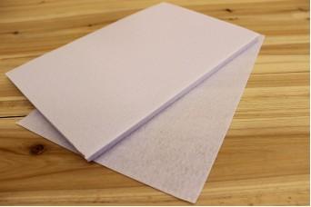 Φύλλα Τσόχας 1mm 20x30cm Λευκά FL0086W