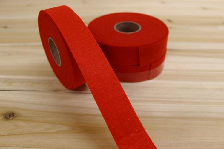 Κορδέλα Τσόχας 3cm Κόκκινη FL0092R