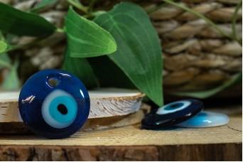 Μάτι Γυάλινο Μπλε 3cm GI-4852-30