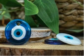 Μάτι Γυάλινο Τιρκουάζ 3cm GI-4856-2