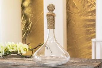 Καράφα Κρασιού Χρυσό Κρύσταλλο 30cm GI09104G