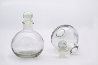 Μπουκάλι Γυάλινο Ίσιο GI164937-1