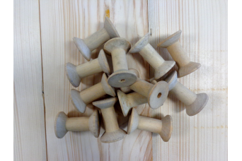 Ξύλινες Κουβαρίστρες 12τεμ 4,5cm HTD