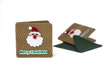 Χριστουγεννιάτικη Κάρτα Αϊ-Βασίλης PI9631-5