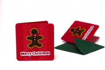 Χριστουγεννιάτικη Κάρτα Μπισκοτούλης PI9631-8