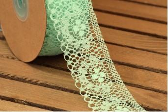 Δαντέλα Handmade 20yd Mint LC0441-2