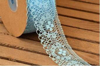 Δαντέλα Handmade 20yd Baby Blue LC0441-4