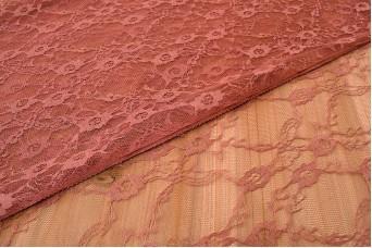 Δαντέλα Ύφασμα με το Μέτρο Rayon Ιριδίζουσα LC141856-4