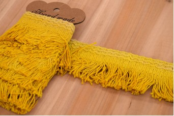 Τρέσσα Κρόσσια Κίτρινο LC17B2107-3