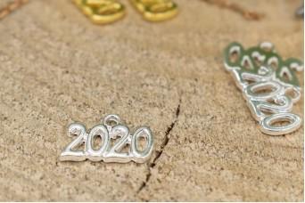 Μεταλλικό 2020 16x11mm Ασημένιο MI-007