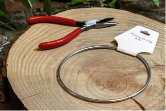 Μεταλλικό Στεφάνι 11cm MI-5285-11