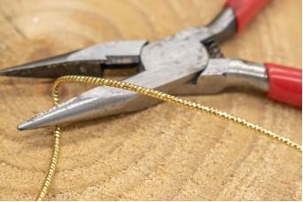 Σύρμα Σφυρήλατο 1.5mm Χρυσό MI-7969-1