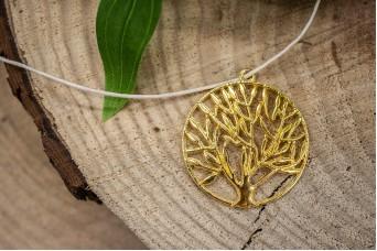 Μεταλλικό Δέντρο Ζωής Χρυσό 35mm 10τεμ. MI1592-59G