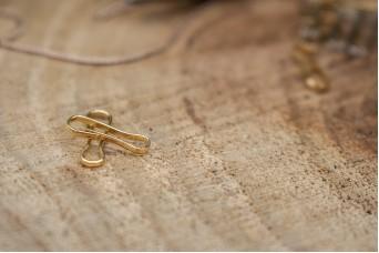 Συνδετήρας Χρυσός 12mm 50τεμ. MI3426-A124G