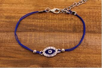 Βραχιόλι Ματάκι Μπλε MI0219BL