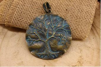 Μεταλλικό Δέντρο Ανάγλυφο MI0368