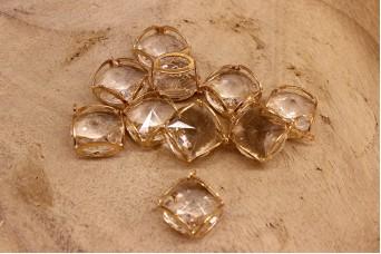 Κύβος Κρύσταλλο Χρυσό