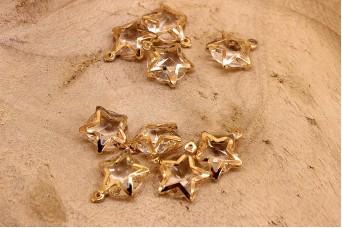 Αστέρι Κρύσταλλο Χρυσό