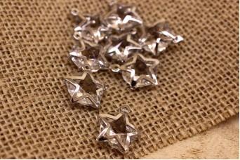 Αστέρι Κρύσταλλο Ασημί