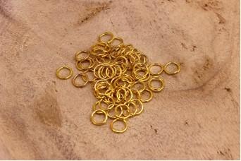 Μεταλλικοί Κρίκοι Χρυσοί
