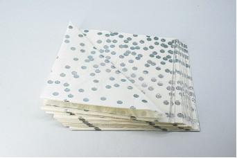 20τεμ Χαρτοπετσέτες Ασημένιο Confetti PI2745-6