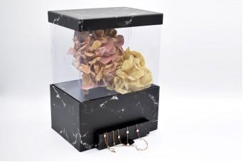 Flower Box Τετράγωνο με Συρτάρι PIF-7348