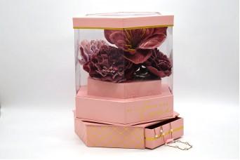 Flower Box Περιστρεφόμενο με Συρτάρι PIF-W6953