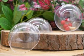 Μπάλα Πλαστική Ανοιγόμενη 8cm PLI3583-8