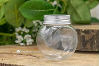Βαζάκι Πλαστικό Διάφανο 5x6cm PLI-5019