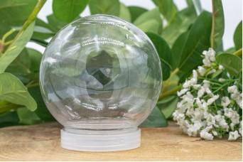 Μπάλα Διάφανη Ανάποδο Καπάκι 8x9cm PLI-5764-1