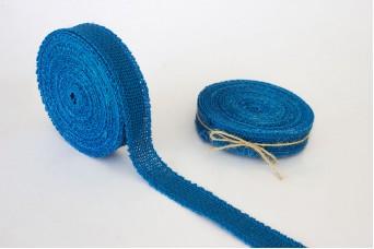Κορδέλα Λινάτσας Μπλε R0187BL