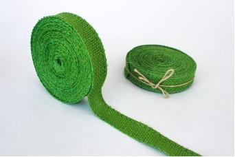 Κορδέλα Λινάτσας Πράσινη R0187GR