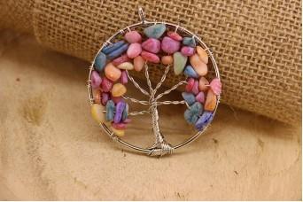 Δέντρο Ζωής Πολύχρωμο Παστέλ