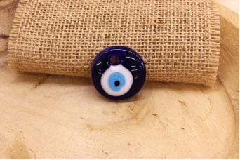 Μάτι Γυάλινο Μπλε 30mm
