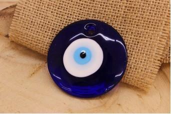 Μάτι Γυάλινο Μπλε 60mm