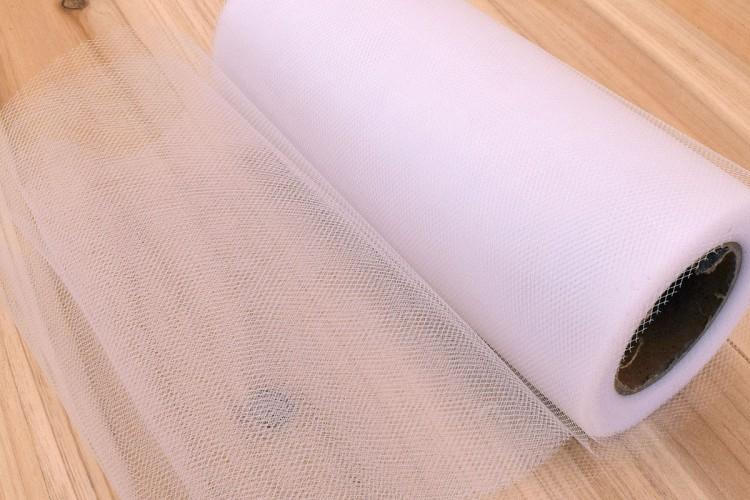 Τούλι Σκληρό Ρολό Λευκό TL150453-2