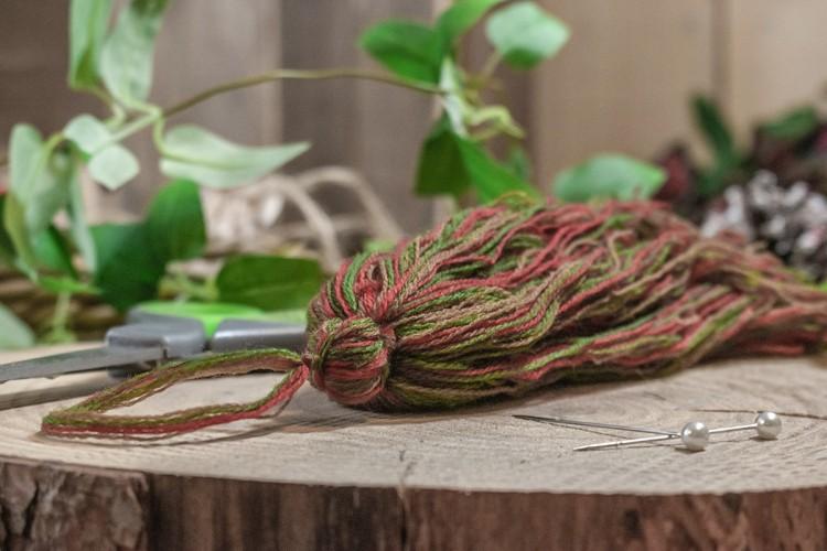 Φούντα Ματ Κεραμιδί Πράσινο 25cm TS-8251