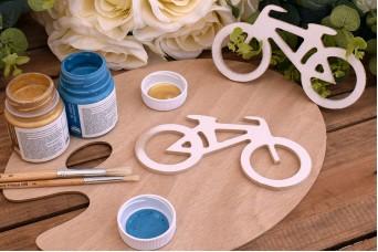 Ξύλινο Ποδήλατο 15,5cm WC4-0180-01