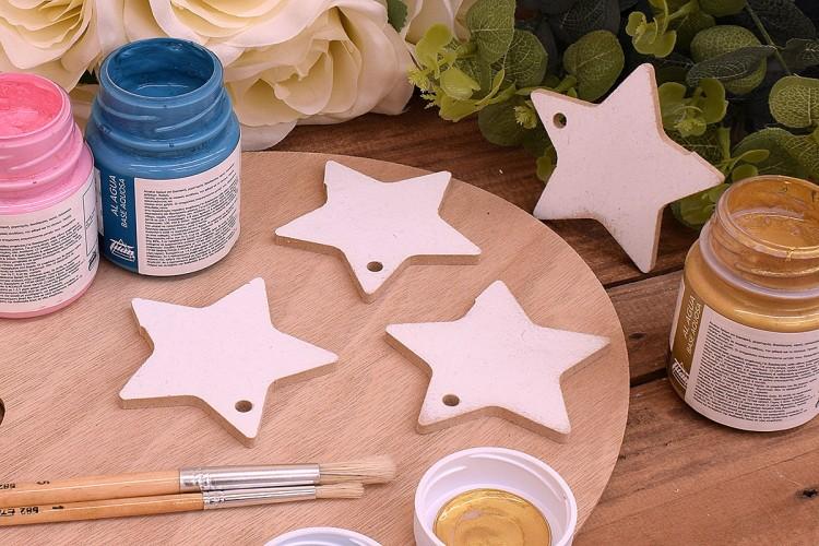 Ξύλινο Αστέρι 7cm WC4-0200-01