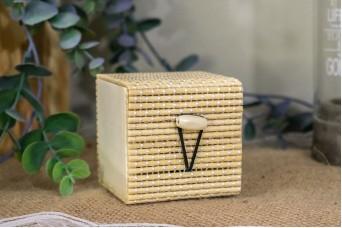 Κουτί Bamboo 6x6x6cm WI-4653