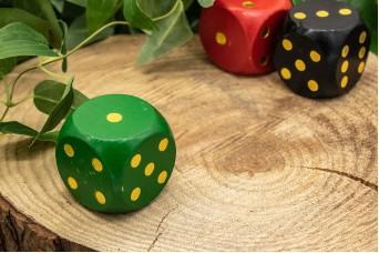 Ζάρι Ξύλινο Πράσινο WI3705G-5