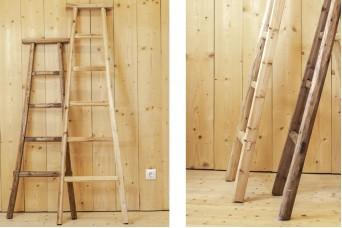 Σκάλα Μονή 150cm Φυσικό WI9483-150