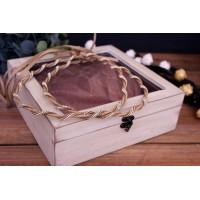 Ξύλινα Κουτιά με Γυαλί WI0575